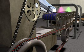 机械三维动画设计