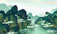 三维卡通布条动画CG场景3D特效