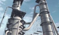 大型石油原油加工化工厂(VJ工业动画)