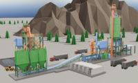 现代化工程施工城市建设