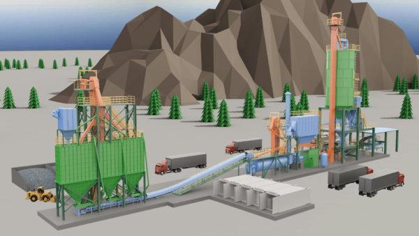工业工程施工动画