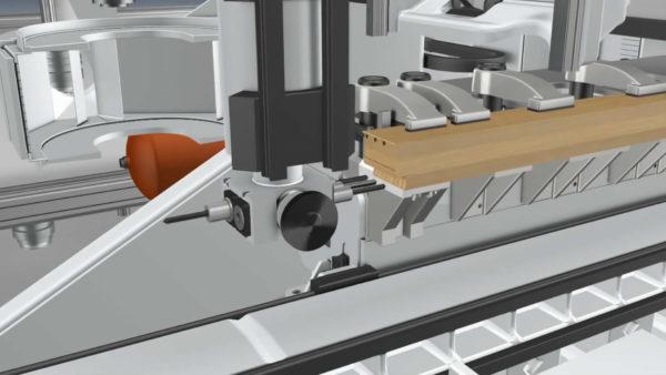 木工工业机械动画