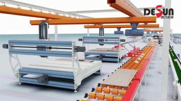 工业三维动画设计迅力生产线
