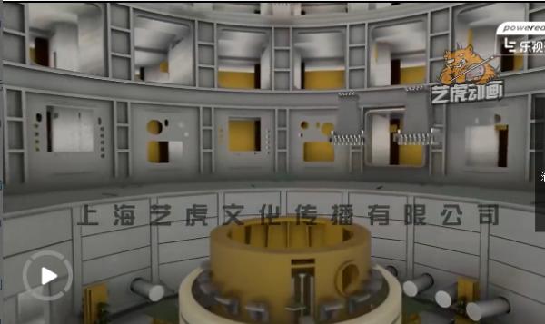 工业机械动画