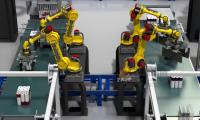高科技工厂仓储物流动画案例