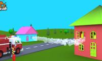 消防安全演示动画视频