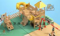 儿童游乐场三维角色动画