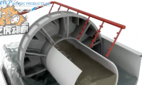 工业滤水器装配过程三维动画