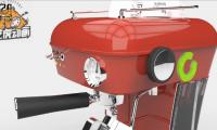 三维产品动画演示咖啡机