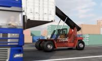 商业贸易运输-仓储物流动画
