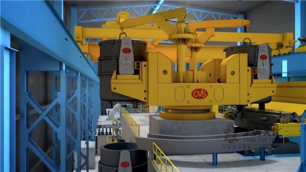 机械产品动画视频